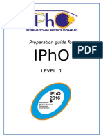 Preparation Guide for IPhO L1