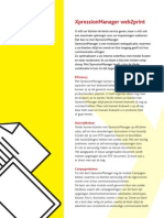 XpressionManager Web2Print