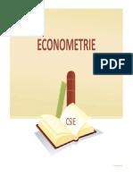 Curs 1 Econometrie