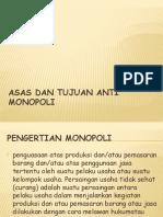 Asas dan tujuan anti monopoli(BAB 12).pptx