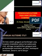 Penanganan Autisme Secara Komprehensif Dr Jimmy