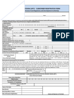 APY Subscriber Registration Form