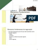 Cap 2 Elementos Fundamentais Da Negociação