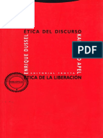Etica Del Discurso y Etica de La Liberacion