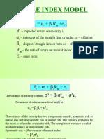 The Sharp Index Model
