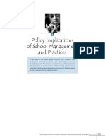 policy implications of school management