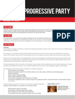 Online Marketing Case Study Kondiment Serbian Progressive Party