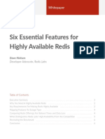 Redis Labs 6 Features for Highly Available Redis