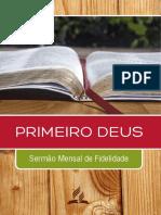 Sermonário Sermão Mensal Fidelidade new