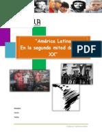 America Latina en La Segunda Mitad Del Siglo XX