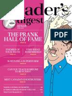 Reader's Digest Canada - April 2017