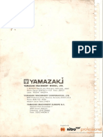 Mazak t1 Maintenance Manual