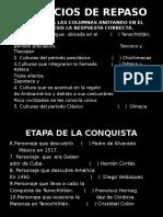 EJERCICIOS DE REPASO de Historia de México.pptx