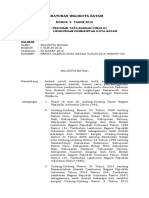 Perwako 05 2016 - Tata Naskah Dinas