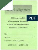 Basic Wheel Alignment