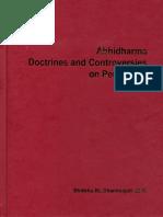 Abhidharma Doctrines and Controversies on Perception - Dhammajoti 2007.pdf