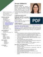 Docslide.us 1 Jovana Soldatovic Cv 2014