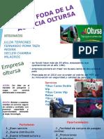 Grupo 5 Análisis Foda de La Agencia Oltursa(1)
