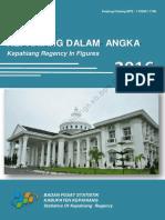 Kabupaten Kepahiang Dalam Angka 2016