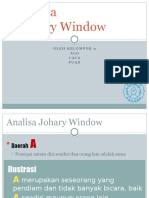 Analisa Johary Window Kewirausahaan