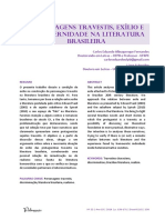 Travestis Na Literatura Brasileira