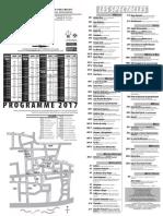 Programme parcours et jardins 2017