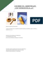 Apuntes Sobre El Arbitraje Laboral en Venezuela