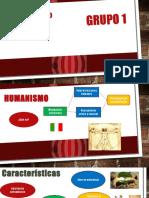 Grupo 1- Humanismo