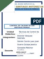 Informe Control de Calidad Original