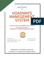 Roadways Report