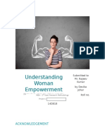 Woman Empowerment_Research Methodology Project_Devika Johar