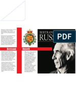 Bertrand Russell Poster Central