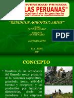 RESIDUOS AGROPECUARIOS