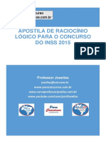 Apostila de Raciocínio Lógico Para INSS-2015 - Professor Joselias - Grátis.pdf