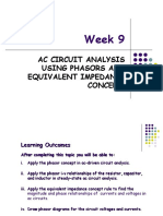 BEF 12503 - Week 9 - AC Circuit Analysis Using Phasors and Equivalent Impedance Concept.ppt