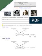 Anne Frank 1ºguião de Leitura