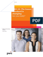 Pwc Ifrs 16 the Leases Standard is Changing 2016 02 En