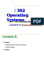 Lecture9 Process Synchronization
