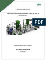 Simulacion de Procesos en La Ingenieria Quimica