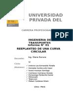 Informe N° 1_Replanteo curva circular