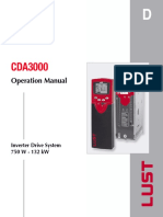 Lust CDA Inverter Servo Drive Manual