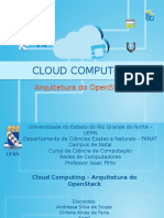 Arquitetura Do Open Stack