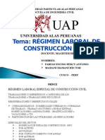 Exposicion Regimen de Construccion Civil