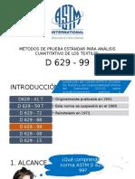 ASTM D629 presentación breve