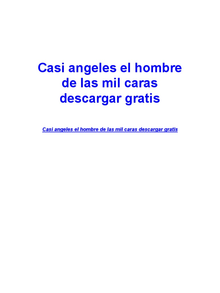 Casi Angeles La Isla De Eudamon Ebook Download