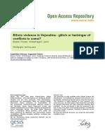 Ssoar-2006-Bieber Et Al-ethnic Violence in Vojvodina