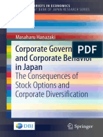 Corporate Governance and Corporate Behavior in Japan