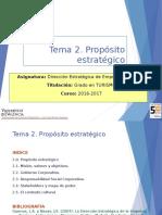Tema 2 Proposito Estrategico