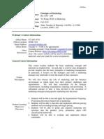 UT Dallas Syllabus for ba3365.004.10f taught by YU WANG (yxw078000)