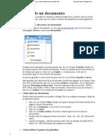 Subir Documentos a DOCS - Documentos de Google